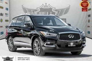 Used 2016 Infiniti QX60 7 PASS, NO ACCIDENT, AWD, NAVI, 360 CAM, DVD, B.SPOT for sale in Toronto, ON