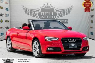 Used 2015 Audi A5 Technik, CONVERTIBLE, NO ACCIDENT, AWD, NAVI, REAR CAM for sale in Toronto, ON