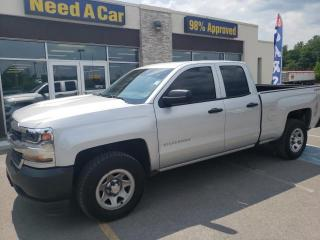 Used 2016 Chevrolet Silverado 1500 LS DOUBLE CAB 4X4 4.3L CRUISE for sale in Trenton, ON