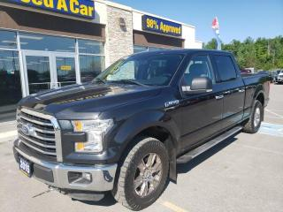 Used 2015 Ford F-150 XLT SuperCrew 4x4 w/PROPANE! NAV! BACKUP CAM! for sale in Trenton, ON