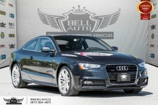 Used 2016 Audi A5 Technik plus, COUPE, NO ACCIDENT, AWD, NAVI, REAR CAM for sale in Toronto, ON