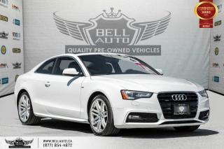 Used 2016 Audi A5 Progressiv plus, COUPE, S-LINE, NO ACCIDENT, AWD, NAVI for sale in Toronto, ON