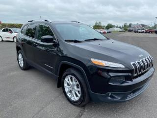Used 2016 Jeep Cherokee North V6 4x4 for sale in Pintendre, QC