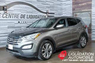 Used 2013 Hyundai Santa Fe Limited+TURBO+PUSH START+CUIR+TOIT+AWD Limited+TURBO+PUSH START+CUIR+TOIT+AWD for sale in Laval, QC