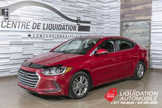 Used 2017 Hyundai Elantra GL+MAGS+CAM/REC+A/C+BLUETOOTH for sale in Laval, QC