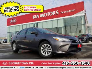 Used 2016 Toyota Camry LE | 4 CYL| BU CAM | B/TOOTH |ONLY 58K KMS|PWR GRP for sale in Georgetown, ON