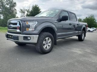 Used 2017 Ford F-150 XLT, CREW, 4X4, V8 5,0L for sale in Vallée-Jonction, QC