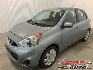 Used 2015 Nissan Micra SV Bluetooth A/C *Transmission Automatique* for sale in Shawinigan, QC
