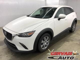 Used 2016 Mazda CX-3 GX NAVIGATION CAMÉRA A/C BLUETOOTH for sale in Shawinigan, QC