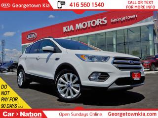 Used 2019 Ford Escape SEL 4WD| ONE OWNER| CLEAN CARFAX | LTHR | ROOF|NAV for sale in Georgetown, ON