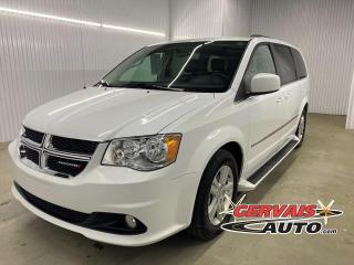 Used 2017 Dodge Grand Caravan Crew Plus Cuir TV/DVD GPS Mags Marche Pieds *Stow N Go* for sale in Shawinigan, QC