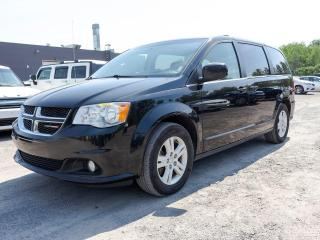 Used 2018 Dodge Grand Caravan CREW CUIR *STOW'N'GO* CAMERA *SIEGES CHAUFF* PROMO for sale in St-Jérôme, QC