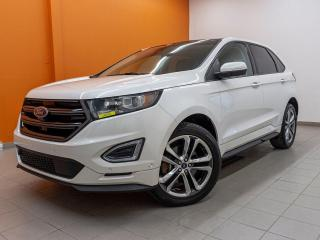 Used 2015 Ford Edge SPORT AWD *TOIT PANO* NAV *ALERTES SECURITÉ* PROMO for sale in St-Jérôme, QC