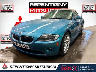 Used 2005 BMW Z4 Roadster 2 portes 2,5i for sale in Repentigny, QC