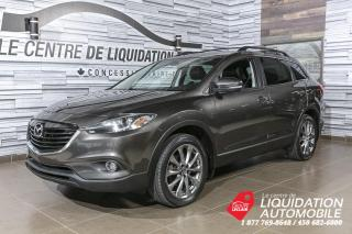 Used 2015 Mazda CX-9 GT+AWD+CUIR+MAGS+TOIT+A/C+CAM/REC+BLUETOOTH for sale in Laval, QC