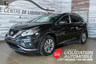 Used 2018 Nissan Murano SV+TOIT+MAGS+GPS+AWD+CAMERA for sale in Laval, QC