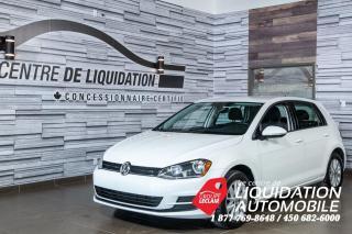Used 2017 Volkswagen Golf GR+ÉLEC+CAMERA DERECULE for sale in Laval, QC