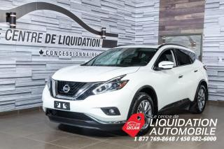 Used 2018 Nissan Murano MAGS+GR. ÉLEC+A/C+CAM/REC+GRS+TOIT for sale in Laval, QC