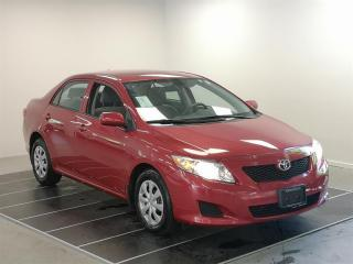 Used 2010 Toyota Corolla 4-door Sedan CE 4A for sale in Port Moody, BC