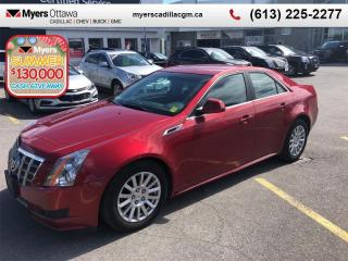 Used 2012 Cadillac CTS 4DR SDN 3.0L LXR  CTS, LEATHER, HEATED SEATS, ALLOYS, 100% MINT, PERFECT! for sale in Ottawa, ON