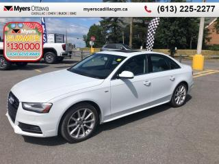 Used 2016 Audi A4 Progressiv plus Quattro  QUATTRO, NAV,SUNROOF, LEATHER, SLINE, CERTIFIED!! CLEAN CARFAX for sale in Ottawa, ON
