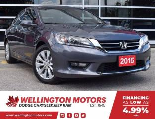 Used 2015 Honda Accord Sedan EX-L | Leather | Pwr. Sunroof | FREE 3 Mth SXM .... for sale in Guelph, ON