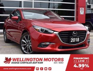 Used 2018 Mazda MAZDA3 GT >> Navi >> Leather >> Back-Up Cam !! for sale in Guelph, ON
