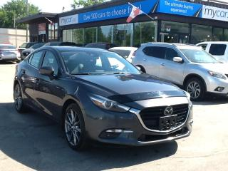 Used 2018 Mazda MAZDA3 GT LEATHER, SUNROOF, NAV, HEATED SEATS!! for sale in Richmond, ON