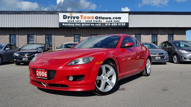 2006 Mazda RX-8 GT  **LEATHER**MOONROOF** ONLY 67000KMS