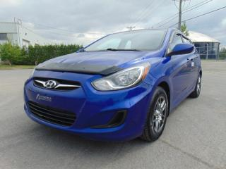 Used 2012 Hyundai Accent *****6 VITESSES*****A/C******* for sale in St-Eustache, QC
