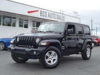 Used 2019 Jeep Wrangler Unlimited Sport, PentaStar V6, Bluetooth, Freedom Top, 8 spd for sale in Vancouver, BC