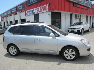 Used 2009 Kia Rondo EX $5,495+HST+LIC FEE / FULLY LOADED / GREAT ON GAS for sale in North York, ON