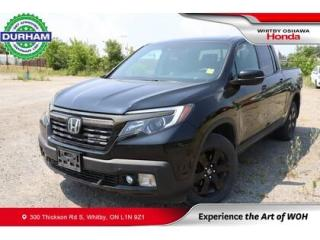 Used 2017 Honda Ridgeline 4WD Crew Cab Black Edition for sale in Whitby, ON