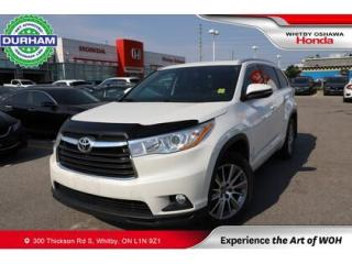 Used 2016 Toyota Highlander AWD 4DR XLE for sale in Whitby, ON