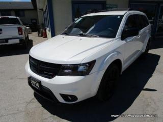 Used 2016 Dodge Journey FAMILY MOVING SE EDITION 7 PASSENGER 3.6L - V6.. MIDDLE BENCH.. THIRD ROW.. HEATED SEATS.. BACK-UP CAMERA.. BLUETOOTH SYSTEM.. for sale in Bradford, ON