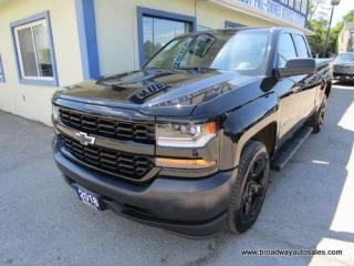 Used 2018 Chevrolet Silverado 1500 LIKE NEW LS EDITION 6 PASSENGER 5.3L - VORTEC.. 4X4 SYSTEM.. QUAD-CAB.. SHORTY.. LEATHER.. BACK-UP CAMERA.. BLUETOOTH SYSTEM.. USB/AUX INPUT.. for sale in Bradford, ON