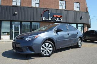 Used 2016 Toyota Corolla LE/HTD SEATS/REAR CAMERA/TOYOTA INSPECTION LE for sale in Concord, ON