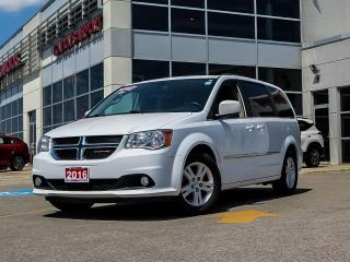 Used 2016 Dodge Grand Caravan Crew for sale in London, ON