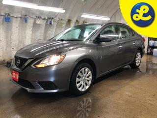 Used 2016 Nissan Sentra SPORT/ECO MODE * Push button ignition * Tinted windows * Phone connect * Voice recognition * Hands free steering wheel controls * Keyless/Passive entr for sale in Cambridge, ON