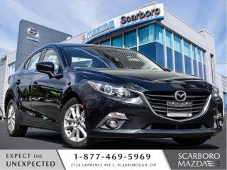 Used 2015 Mazda MAZDA3 HIGHWAY MILEAGE|MOONROOF|NAV|HEATED SEATS for sale in Scarborough, ON
