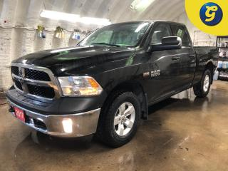 Used 2017 RAM 1500 Quad Cab 4X4 Hemi * Reverse camera * Automatic headlights with fog lights * Phone Connect * Tow/Haul Mode with Trailer Brake Control * Trailer Hitch R for sale in Cambridge, ON