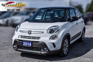 Used 2014 Fiat 500 L Trekking CERTIFIED!! ACCIDENT FREE! for sale in Bolton, ON