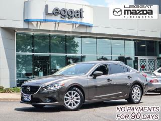 Used 2016 Mazda MAZDA6 GS- AUTOMATIC, BLUETOOTH, HEATED SEATS, ALLOY WHEELS for sale in Burlington, ON