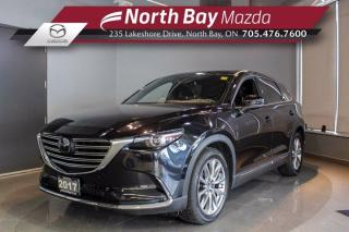 Used 2017 Mazda CX-9 GT - Click Here! Test Drive Appts Available! for sale in North Bay, ON