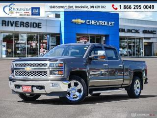 Used 2015 Chevrolet Silverado 1500 1LZ for sale in Brockville, ON