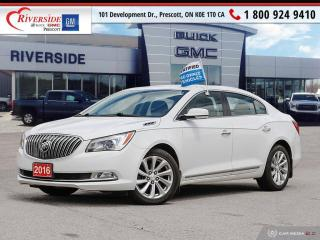 Used 2016 Buick LaCrosse Leather for sale in Prescott, ON