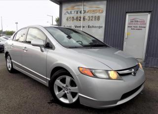 Used 2006 Honda Civic ***LX,AUTOMATIQUE,A/C,MAGS*** for sale in Longueuil, QC