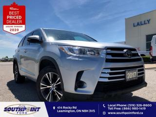 Used 2017 Toyota Highlander LE AWD|Adaptive cruise control|Reverse cam| for sale in Leamington, ON