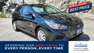 Used 2018 Hyundai Accent GL Great fuel mileage! One owner! Heated seats! for sale in Sudbury, ON