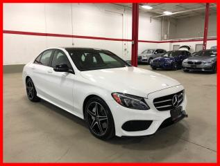 Used 2017 Mercedes-Benz C-Class C300 4MATIC NIGHT SPORT PREMIUM LED for sale in Vaughan, ON
